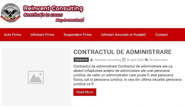 Reinvent Consulting - blog de consultanta despre infiintari firme, contabilitate, consultanta comerciala si fiscala