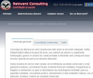 Reinvent Consulting - marca Grupului REINVENT. Consultanta comerciala fiscala reprezentare ONRC consultanta juridica