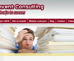 Reinvent Consulting te scapa de bataile de cap la infiintarea firmei si evidenta contabila