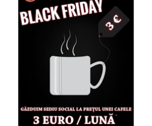 oferta soc de black friday la gazduire de sediu