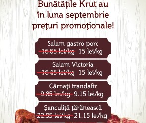 Mezelurile Krut oferta speciala