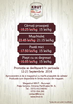 Oferta Peris septembrie