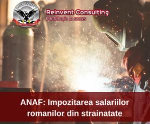 impozitarea salariilor romanilor din diaspora Reinvent Consulting