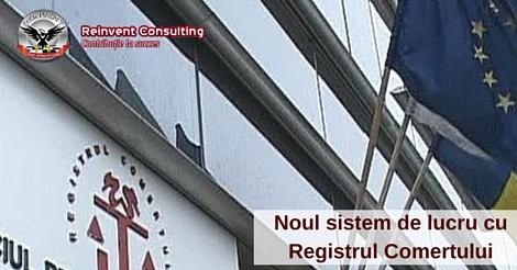 Modificari in procedura de lucru a Registrului Comertului