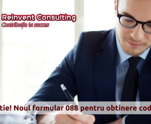 cod de TVA, formular 088, Reinvent Consulting