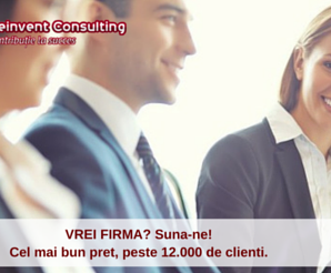 infiintare Firma Reinvent Consulting