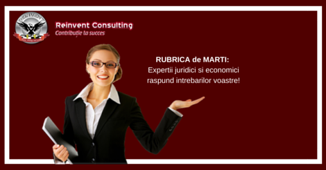 infiintare firma, rubrica de marti, reinvent consulting