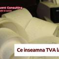 TVA la incasare Reinvent Consulting
