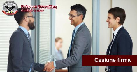 cesiune firma Reinvent Consulting