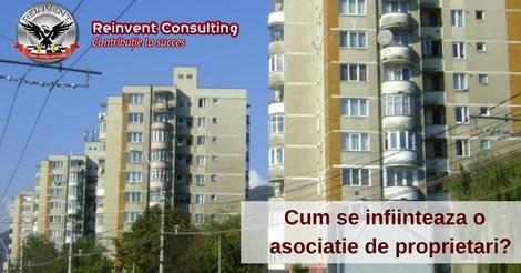 infiintare asociatie proprietari Reinvent Consulting
