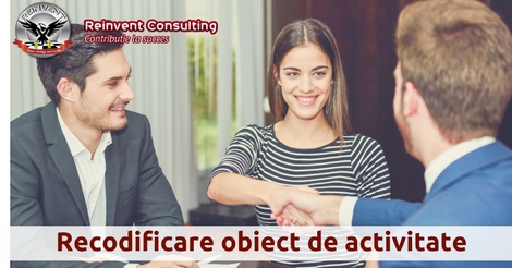 recodificare obiect de activitate, Reinvent Consulting