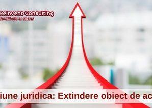 mentiune ONRC extindere obiect de activitate Reinvent Consulting