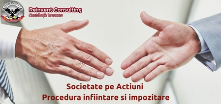 Infiintare Societate pe Actiuni SA Reinvent Consulting