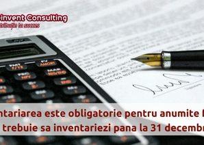 Inventariarea este obligatorie pentru anumite firme! Afla ce trebuie sa inventariezi pana la 31 decembrie, Reinvent Consulting
