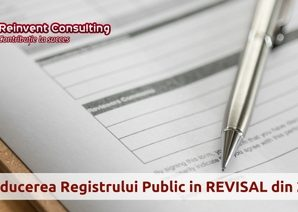 2 Registre REVISAL- Registrul Public si Registrul Privat