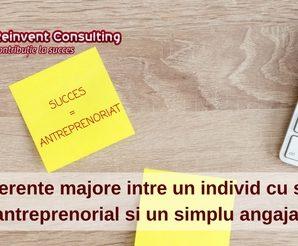 4 diferente majore intre un individ cu spirit antreprenorial si un simplu angajat