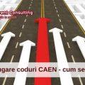 Adaugare coduri CAEN- cum se face-