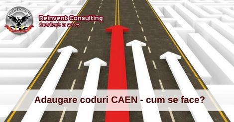 Extindere cod CAEN