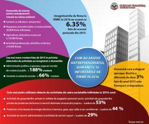 Infografic: Mediul antreprenorial romanesc in 2016, Reinvent Consulting