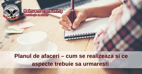 Planul de afaceri, Reinvent Consulting