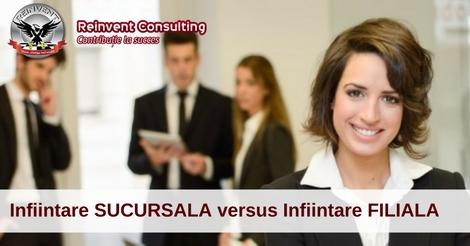 infiintare sucursala infiintare filiala Reinvent Consulting