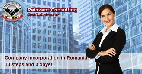 Company Incorporation in Romania, steps for company formation in Romania Reinvent Consulting