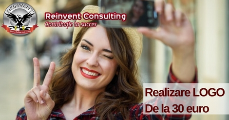 Realizare logo Reinvent Consulting
