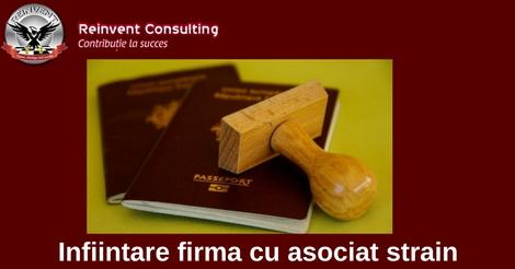 Infiintari firme cetateni straini Reinvent Consulting