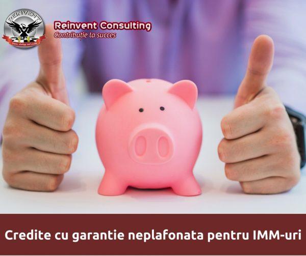 Credite cu garantie neplafonata pentru IMM-uri