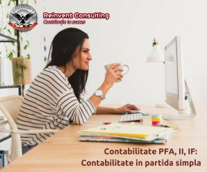 contabilitate in partida simpla Reinvent Consulting