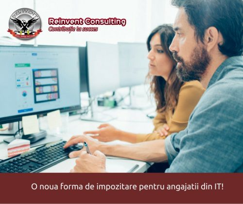 impozit IT Reinvent Consulting
