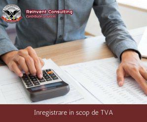 inregistrare in scop de TVA Reinvent Consulting