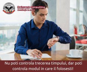 Managementul timpului Reinvent Consulting