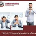 Suspendare activitate firma Reinvent Consulting