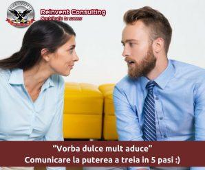 5 pasi comunicare eficienta Reinvent Consulting