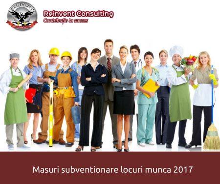 subventionare locuri de munca Reinvent Consulting