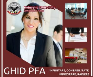 GHID PFA: infiintare, contabilitate, impozite, radiere by Reinvent Consulting