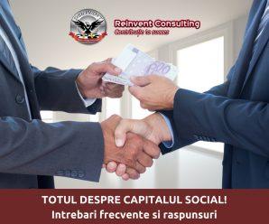 Intrebari frecvente despre capitalul social, Reinvent Consulting