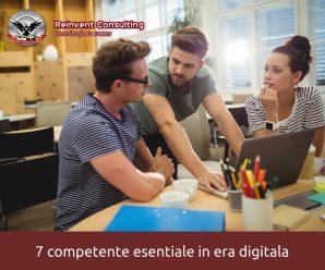 7 competente esentiale pentru antreprenori si profesionisti in era digitala