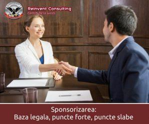 Sponsorizare Reinvent Consulting