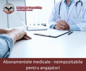 abonamentele medicale neimpozitabile, Reinvent Consulting