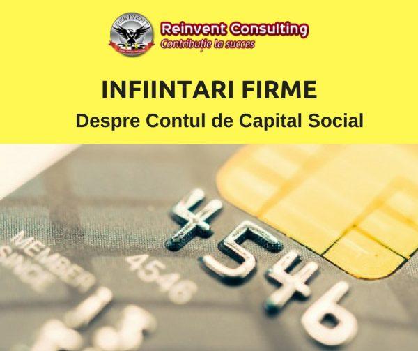 cont de capital social Reinvent Consulting