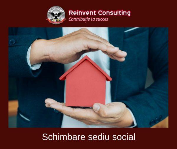 schimbare sediu social Reinvent Consulting