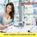 ANAF modifica formularele 600 si 610 referitoare la CAS si CASS