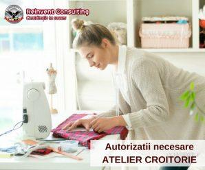 autorizatii atelier croitorie Reinvent Consulting