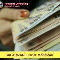 salarizare 2018 modifcari Reinvent Consulting