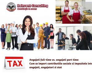 Angajati full-time vs. angajati part time_ Cum se impart contributiile sociale si impozitele intre angajati, angajatori si stat Reinvent Consulting (1)