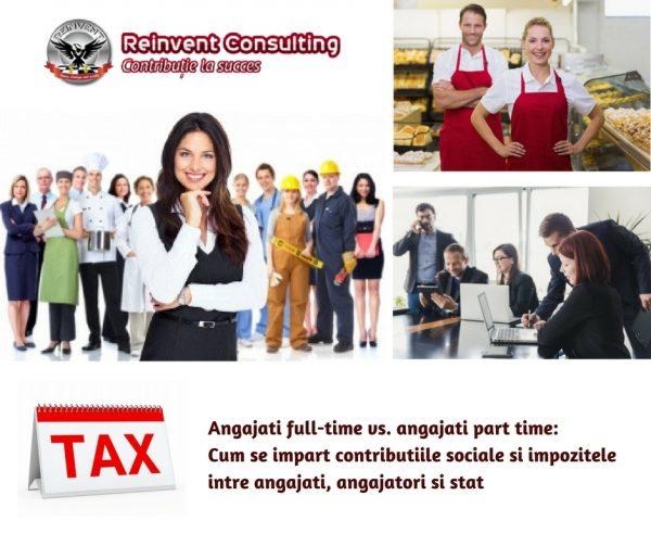 Angajati full-time vs. angajati part time_ Cum se impart contributiile sociale si impozitele intre angajati, angajatori si stat Reinvent Consulting (2)