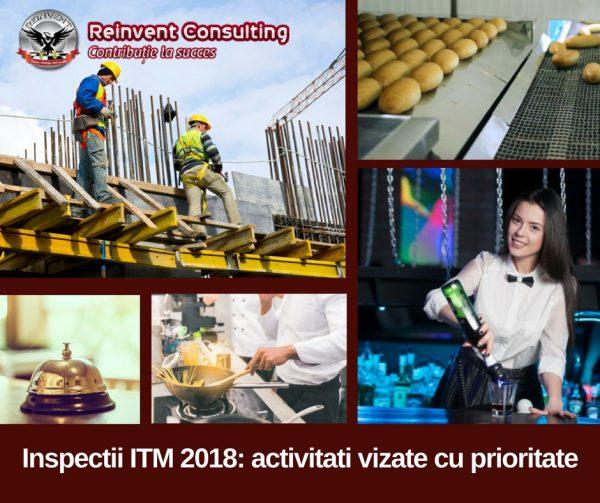 Inspectii ITM 2018 Activitati vizate cu prioritate Reinvent Consulting