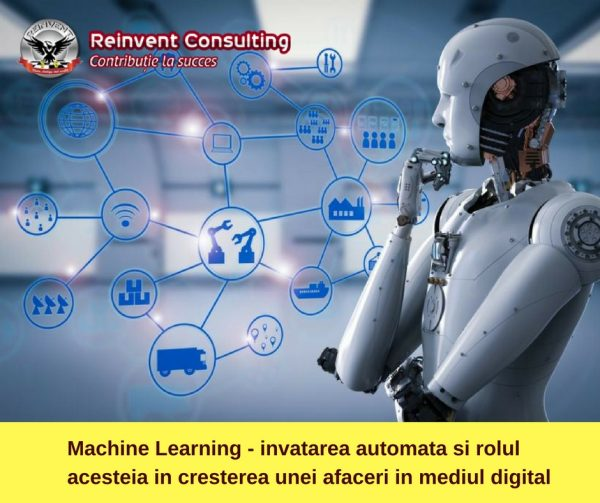 Machine Learning - invatarea automata si rolul acesteia in cresterea unei afaceri in mediul digital Reinvent Consulting